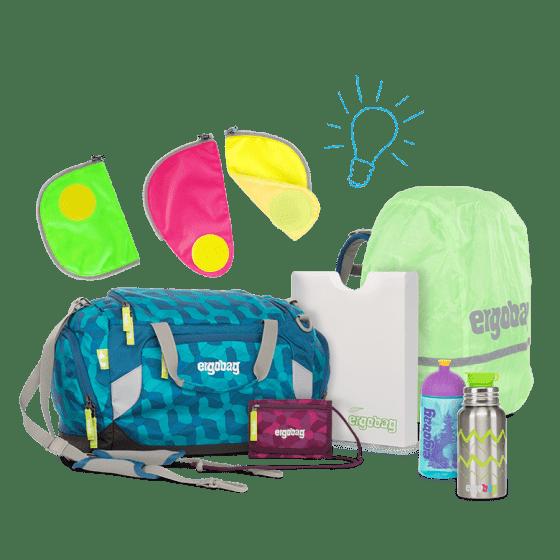 раница за детска градина Bluelight Small | ergo-bags.bg