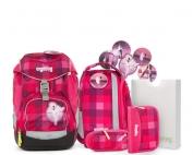 Ученическа раница в розово