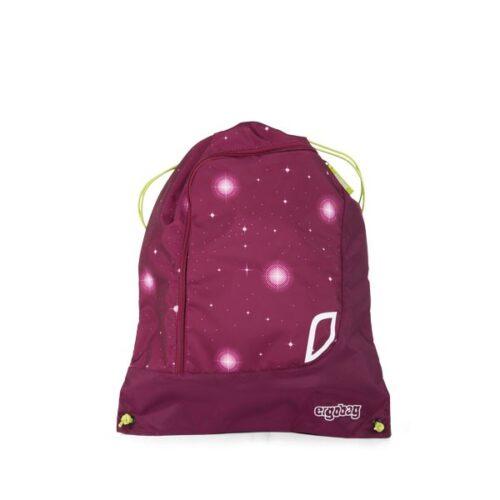 детска спортна чанта - мешка в лилаво