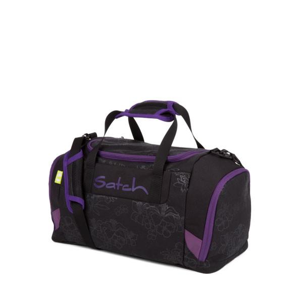 спортен сак satch Purple Hibiscus