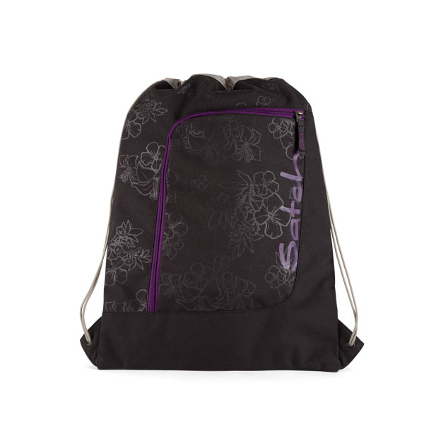 spotna chanta satch purple hibiscus 2 | ergo-bags.bg