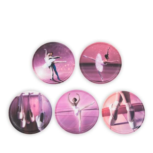 стикери klettie Ballerina