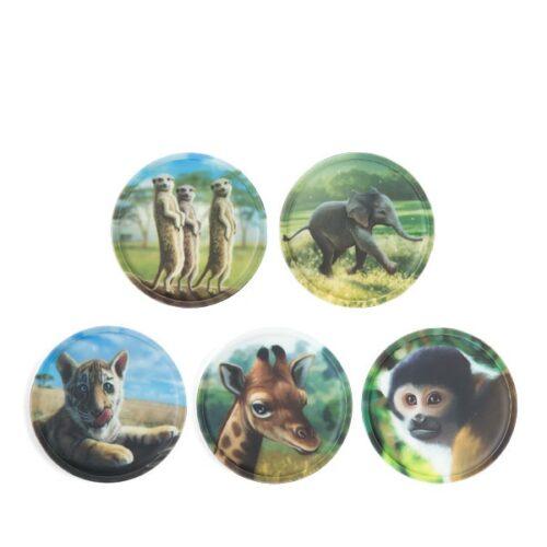 стикери klettie Zoobabies
