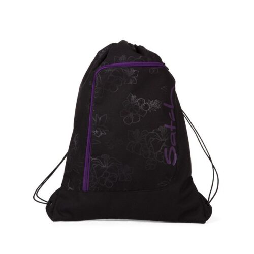 спортна чанта satch Purple Hibiscus