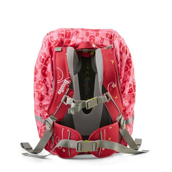 Дъждобран за раници Ergobag Power Pink розов