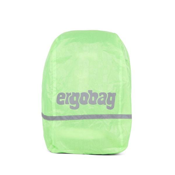 Светлоотразителен дъждобран за раници Ergobag Green