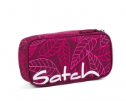 несесер за тинейджър satch PencilBox Purple Leaves