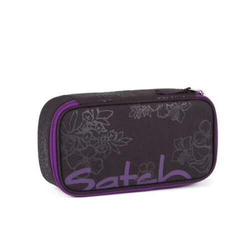 несесер satch PencilBox Purple Hibiscus