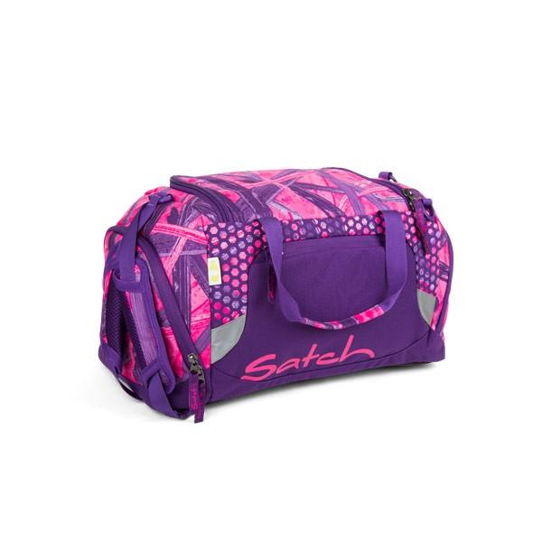Спортен сак в розово и лилаво satch Candy Lazer.
