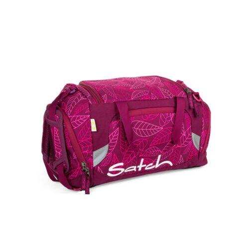 Спортен сак satch Purple Leaves в стилен лилав цвят