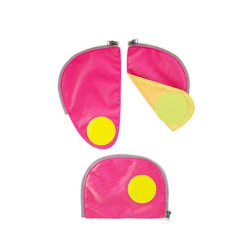 Светлоотразителен комплект за детска раница Safety Set Pink