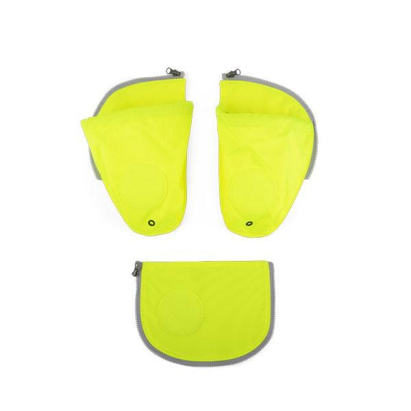 светлоотразяващ комплект със странични джобове за раница
