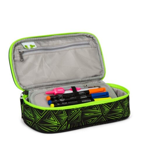 несесер satch PencilBox Green Crush