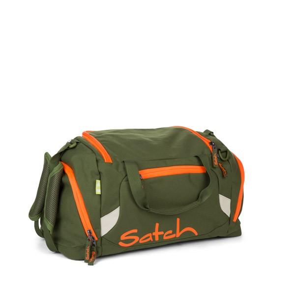 Спортен сак satch Green Phantom с дръжки и презрамки