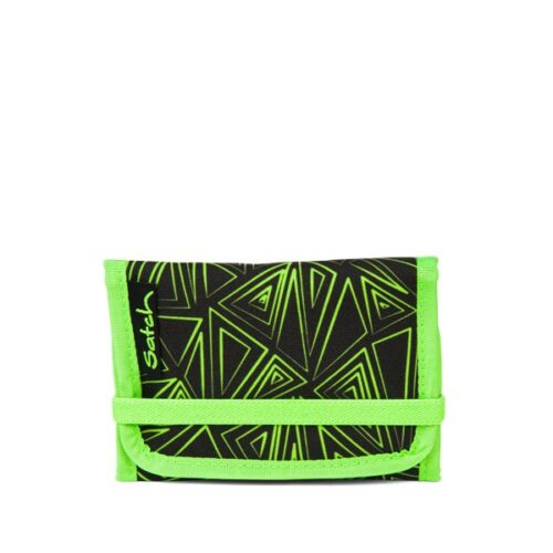 Портфейл за тийнейджър в свежи зелени цветовеGreen Bermuda