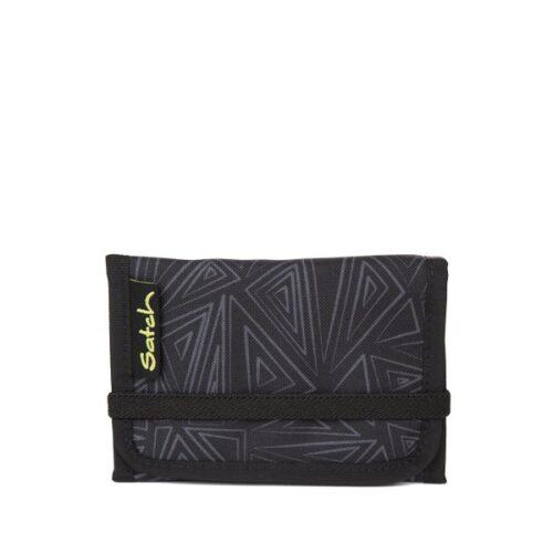 Портфейл за тийнейджър в черни цветове satch wallet Black Bermuda
