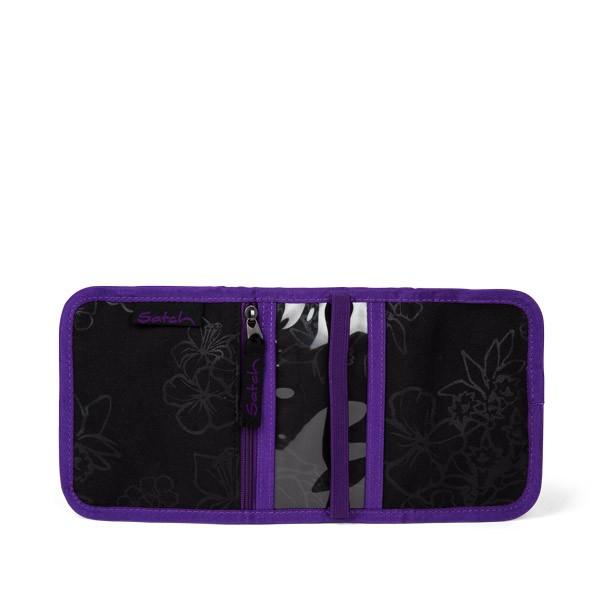 Портфейл за тийнейджър с различни отделения Purple