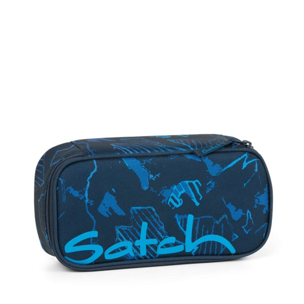 тийн несесер satch PencilBox Blue Compass