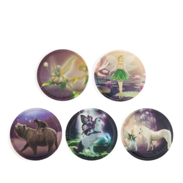 стикери за раница klettie Fairytale