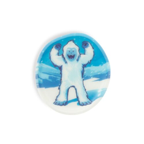 стикер за раница Yeti, светещ