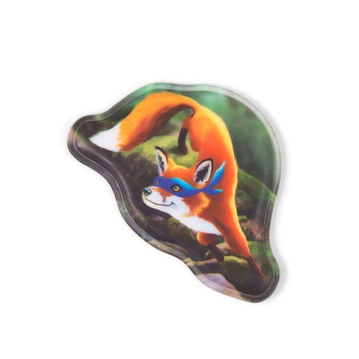 стикер за раница Ninja Fox
