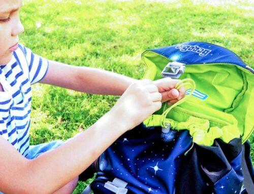 Връзките за пристягане на ученическите раници ergobag