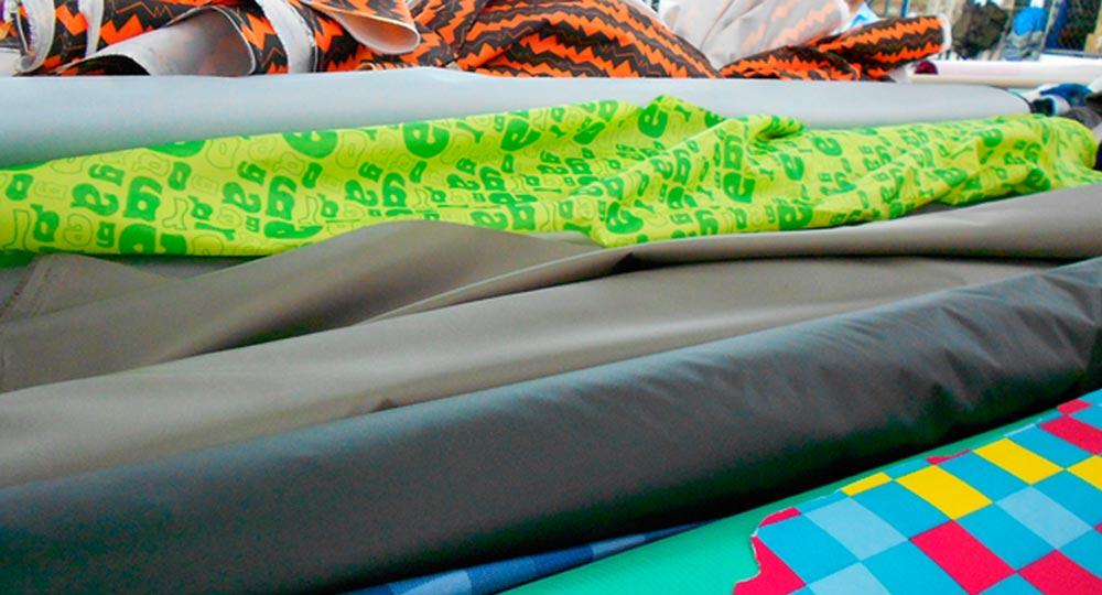 текстил за раници от рециклирани PET бутилки