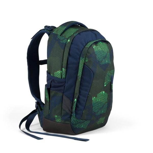 лека ученическа раница satch sleek Infra Green