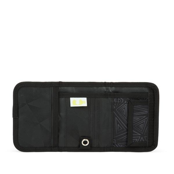 портмоне за тийнейджър в стилно черно satch
