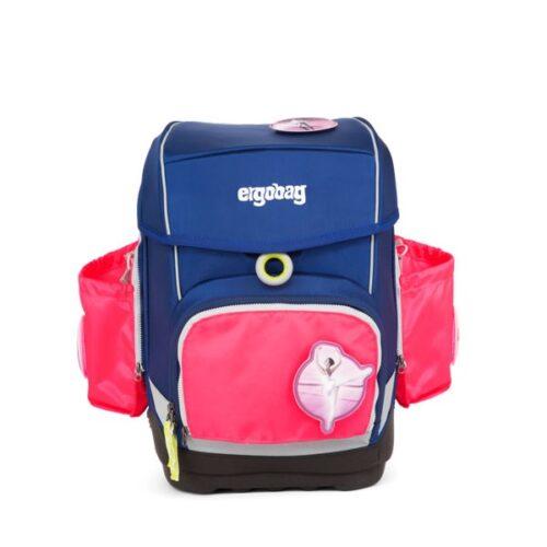 ученическа раница с комплект с външни джобове в розово