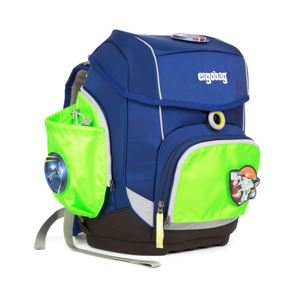 ученическа раница с комплект с външни джобове Side Pocket Set Green