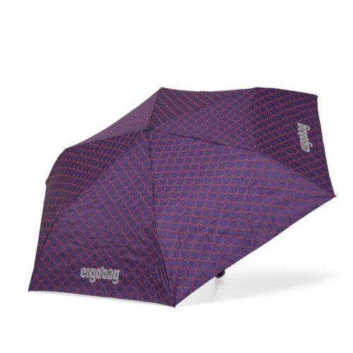 лек детски чадър в лилаво