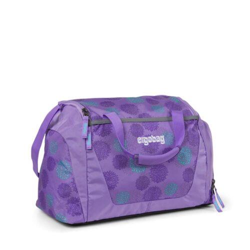 детски спортен сак за момичета в лилаво