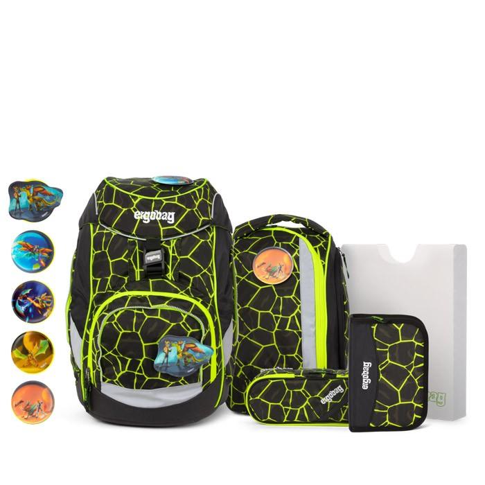 ERG SET 001 9Y1 ergobag pack Dragon RideBear | ergo-bags.bg