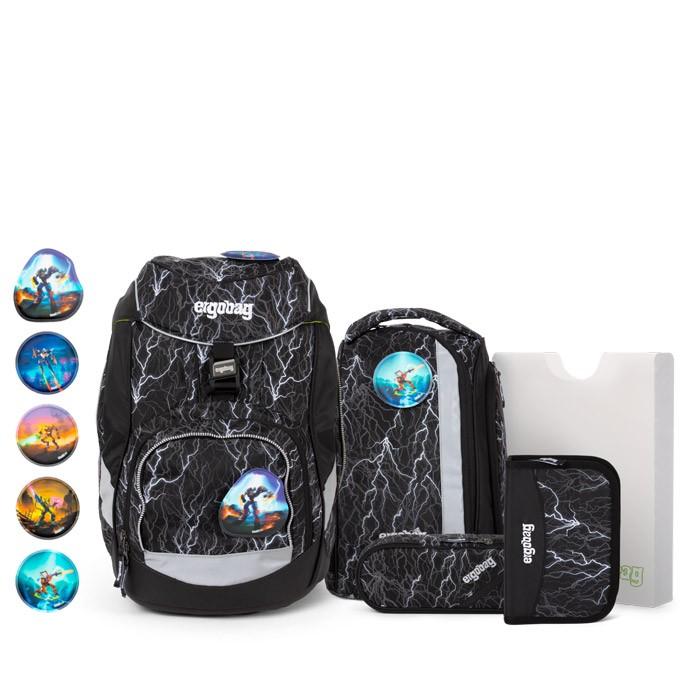 раница ergobag pack Super ReflectBear Glow   ergo-bags.bg