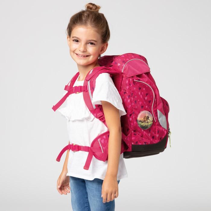 ERG SET 001 9Z7 ergobag pack HorseShoeBear Girl | ergo-bags.bg
