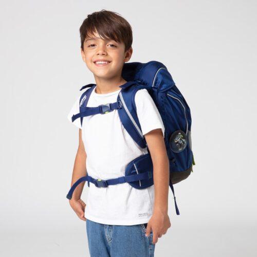 раница за първи клас в синьо