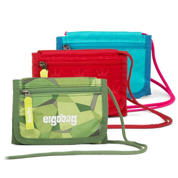 детско ученическо портмоне ergobag SleighBear Glow | ergo-bags.bg