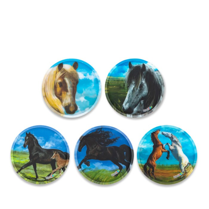 стикери за раница Horses с кончета