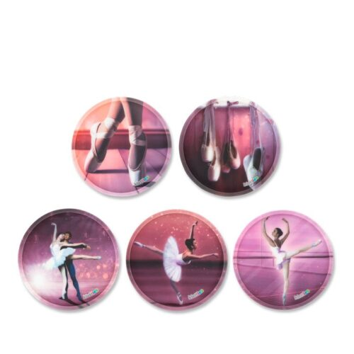 стикери Балерина за ученическа раница | ergo-bags.bg