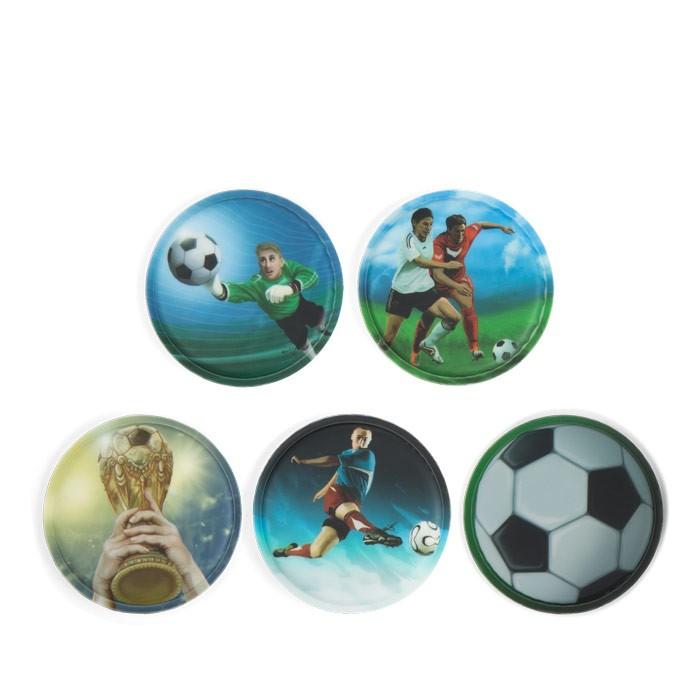 стикери за раница Soccer с футболисти