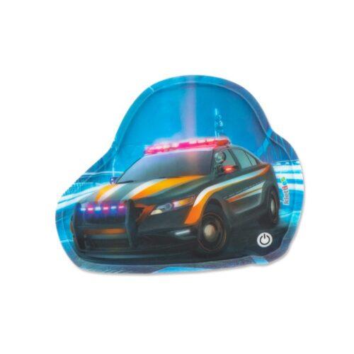 мигащ стикер за раница Police Car