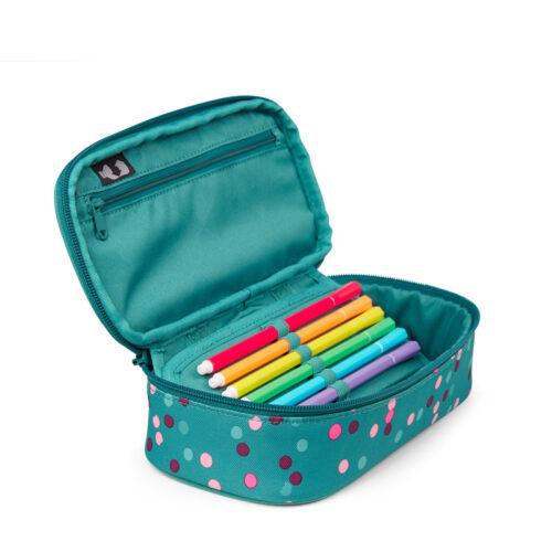 ученически несесер PencilBox Happy Confetti