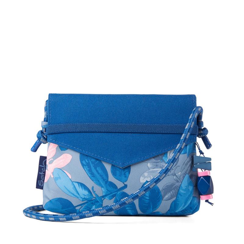 Модерна чантичка за момичета в свеж дизайн в синьо и розово