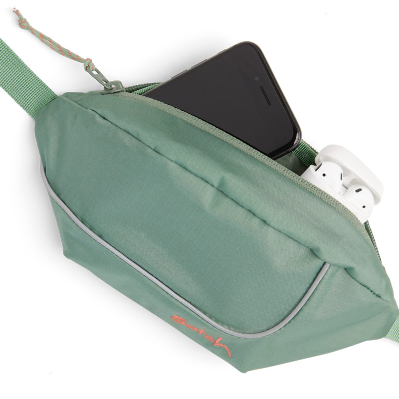 чантичка satch Cross Easy Ripstop Green