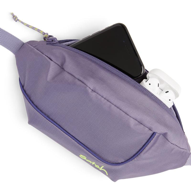 чантичка satch Cross Easy Ripstop Purple