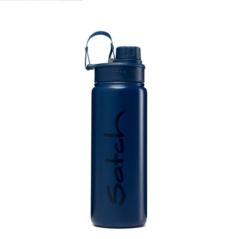 метална бутилка за вода satch Blue Steel