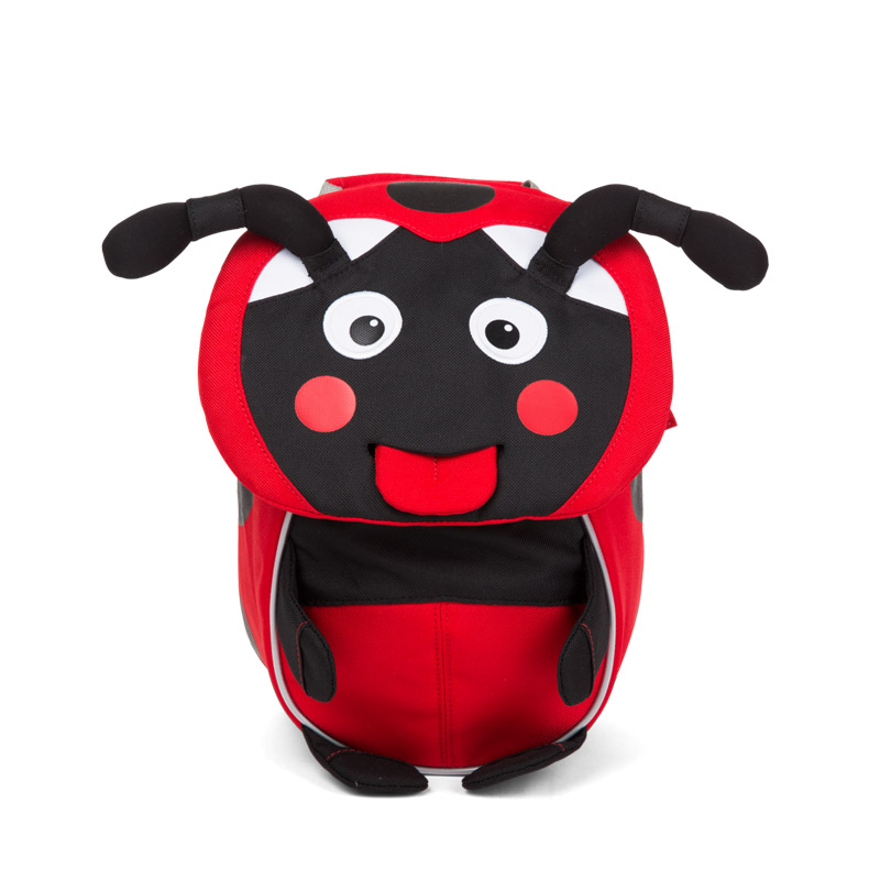 раница за детската ясла affenzahn Small Friend Ladybird
