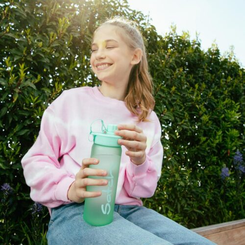 бутилка за вода satch Mint Tritan